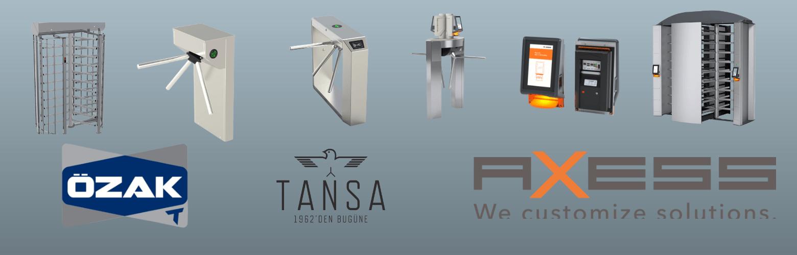 turnstile supplier in saudi arabia axess ozak tansa